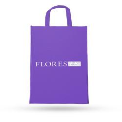 32340 Bolsa de tnt reutilizable Flores