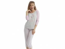 Pijama 2 Piezas Estampado Lila 31852